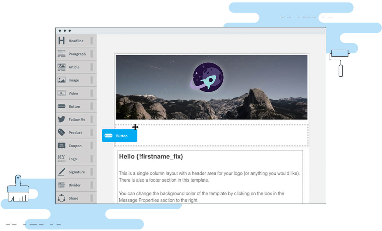The Super Simple Drag and Drop Email Editor