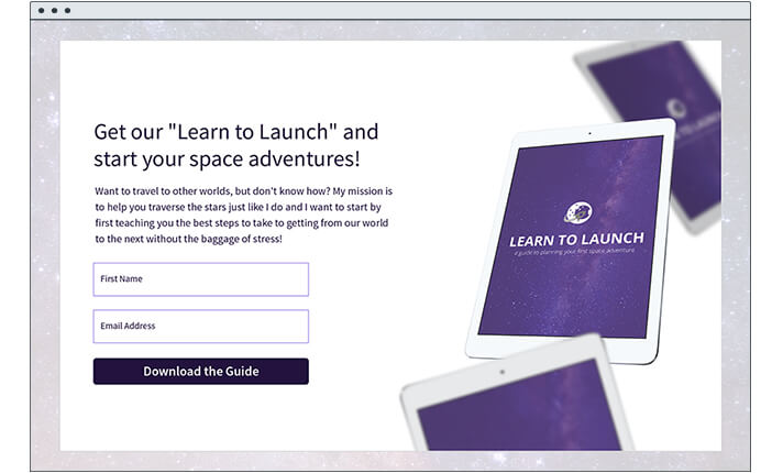 Aweber Landing Pages - An Overview