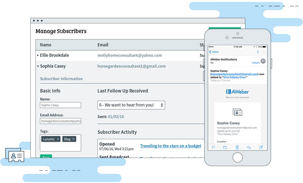 Email List Management | AWeber Email Marketing