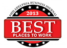 Philadelphia Business Journal Best Place to Work 2013