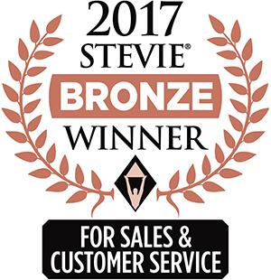 2017 Bronze Stevie Award