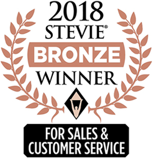 2018 Bronze Stevie Award