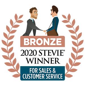 2020 Bronze Stevie Award