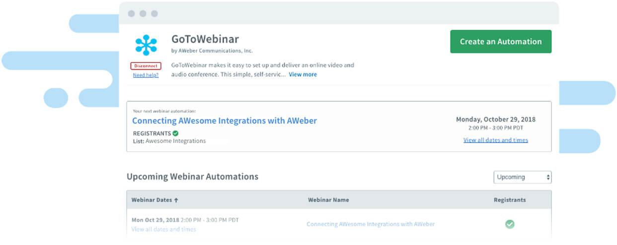 GoToWebinar Integration