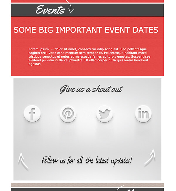 Special Occasion Templates