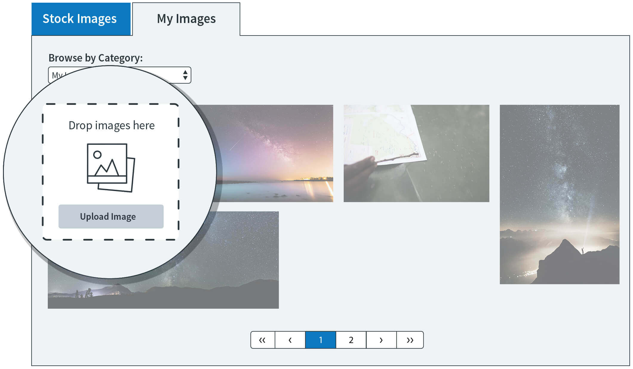 Thousands of Images at Your Fingertips