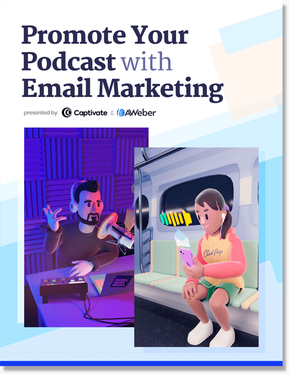 Promote your podcast with email marketing guide