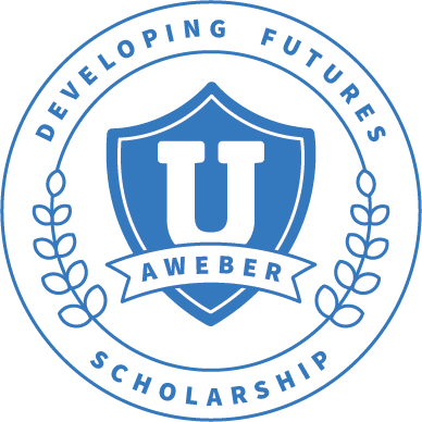 AWeber Developing Futures Scholarship logo