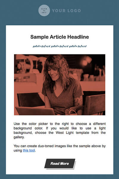 Email Template 1