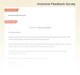 Grow your list with this email template.