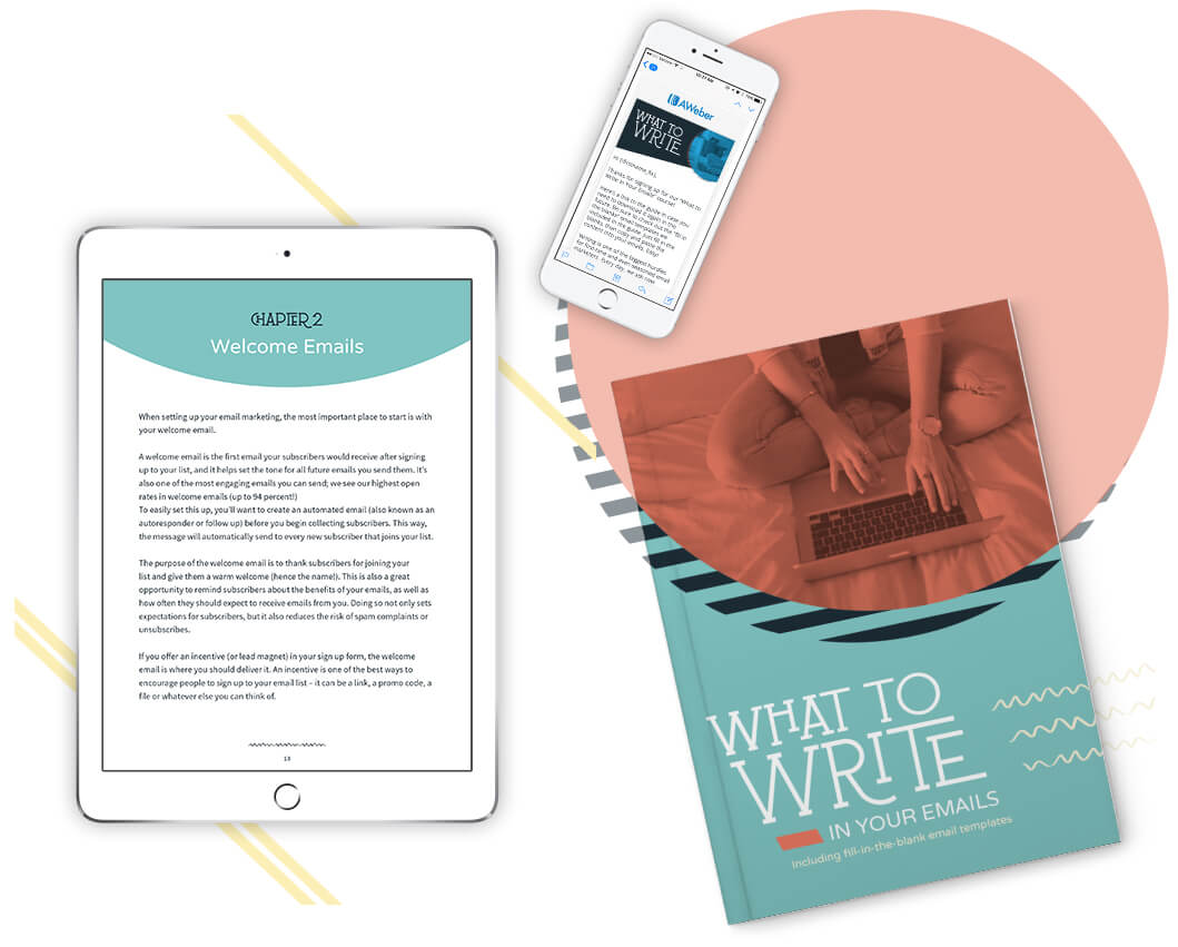Everything you will get in the What to Write Guide and Course